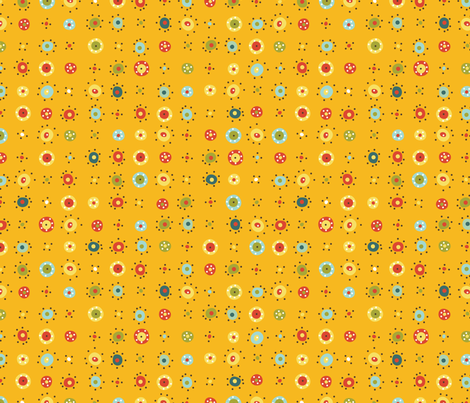 Silly Munky: Dotty Dot fabric by cynthiafrenette on Spoonflower - custom fabric
