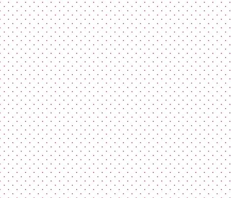 micro pois rouge fond blanc fabric by nadja_petremand on Spoonflower - custom fabric
