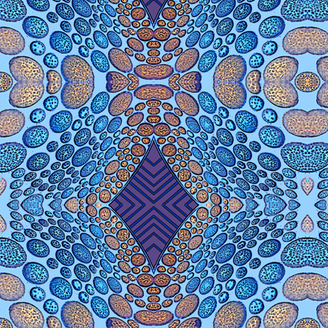 stepping stones fabric by nalo_hopkinson on Spoonflower - custom fabric