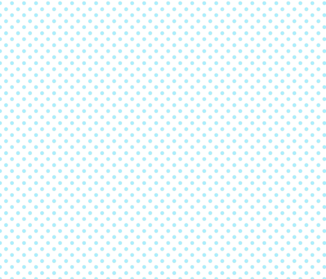 pois bleu fond blanc fabric by nadja_petremand on Spoonflower - custom fabric