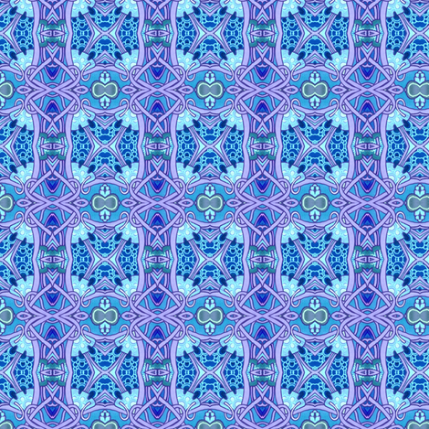 Gothic Blocks (blue) fabric by edsel2084 on Spoonflower - custom fabric