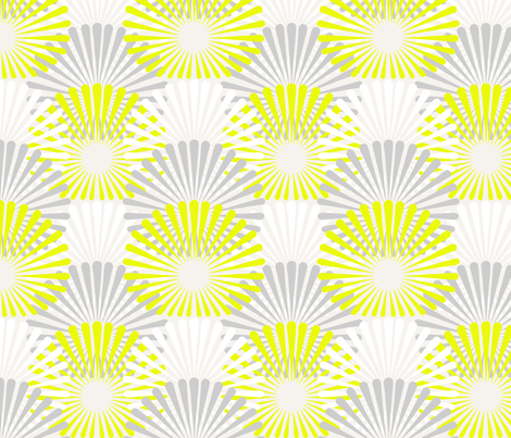 Neon Wave 3 fabric by littletreedesigns on Spoonflower - custom fabric