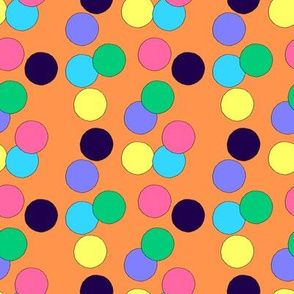 Big Dots (Orange)