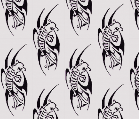 014fishmosaic fabric by kali_d on Spoonflower - custom fabric