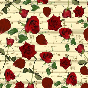 ROSE PETAL SHEET MUSIC