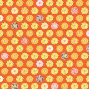 Little Blooms - orange