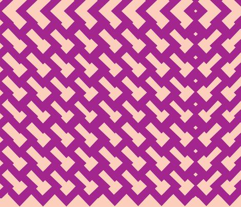 wonky fabric by luvloo on Spoonflower - custom fabric