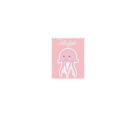 Jellyfish For Maverick fabric by ravzy on Spoonflower - custom fabric
