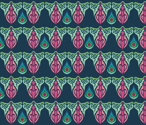 Garland fabric by kirpa on Spoonflower - custom fabric