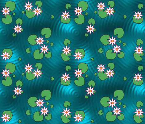 LILY_POND fabric by adranre on Spoonflower - custom fabric