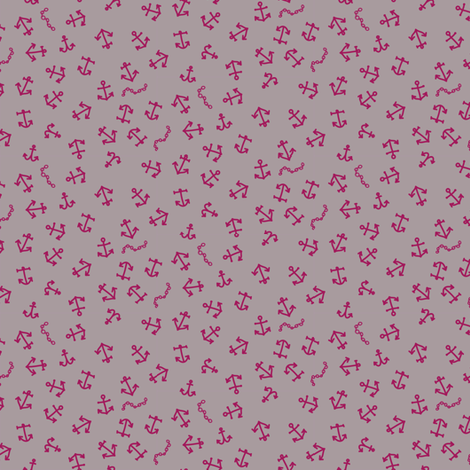 ditsy_anchors fabric by owls on Spoonflower - custom fabric