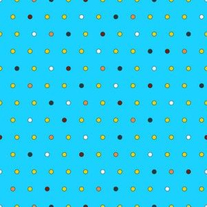 Little Dots (on blue)