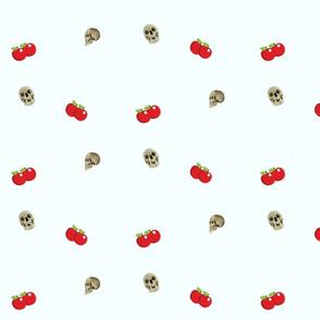 Apples and skulls
