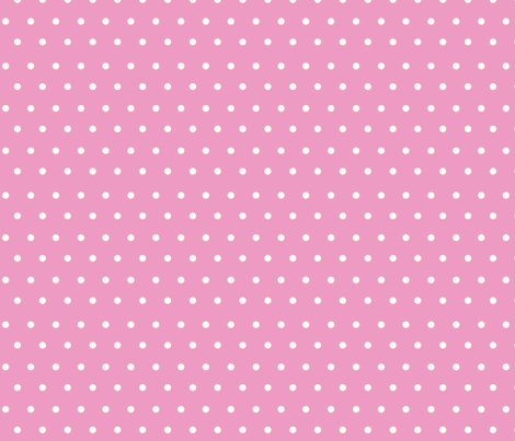 Polka_Dots_Strawberry fabric by buzzellis on Spoonflower - custom fabric
