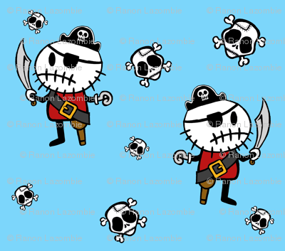 Blue ©Rocky The Zombie Pirate