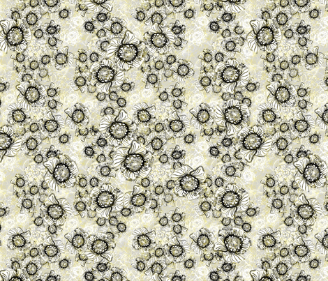 Jungle Wisp fabric by joanmclemore on Spoonflower - custom fabric