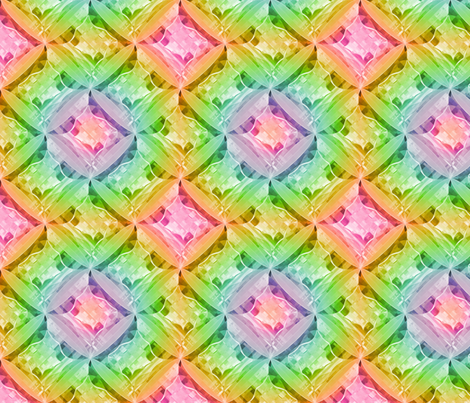 madras spin tropical punch fabric by glimmericks on Spoonflower - custom fabric