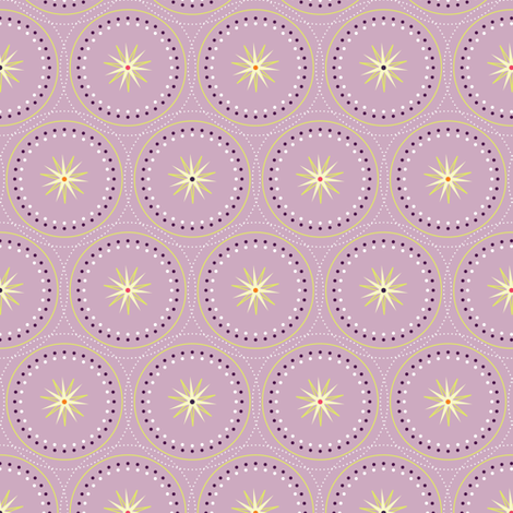 SeaFireworks Empire Circles fabric by designmagi on Spoonflower - custom fabric