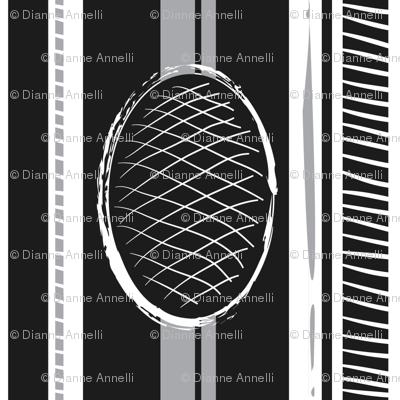 Koi Collect Blk Stripe