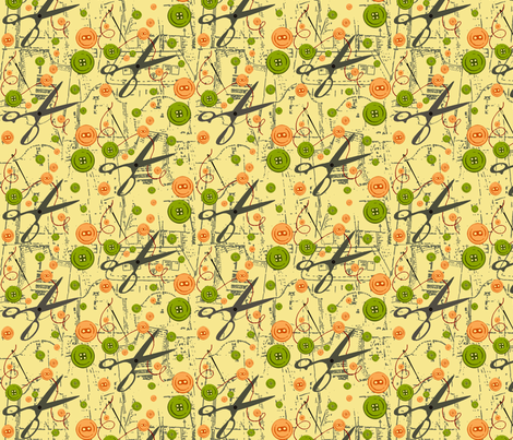 SewingBoxx fabric by catail_designs on Spoonflower - custom fabric