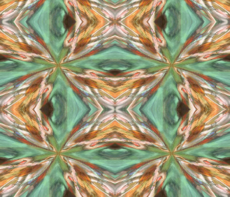 KALEIDOSCOPE fabric by bluevelvet on Spoonflower - custom fabric