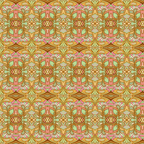 The Return of Art Nouveau fabric by edsel2084 on Spoonflower - custom fabric