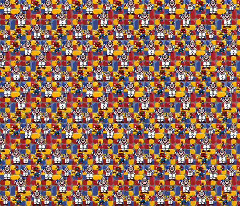 Dr M fabric by dynamiteneedleworks on Spoonflower - custom fabric