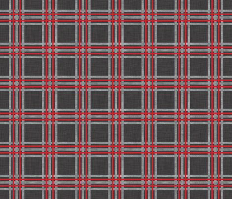 plaid_walrus fabric by holli_zollinger on Spoonflower - custom fabric