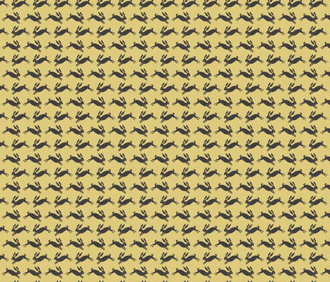 rabbit_summer fabric by holli_zollinger on Spoonflower - custom fabric