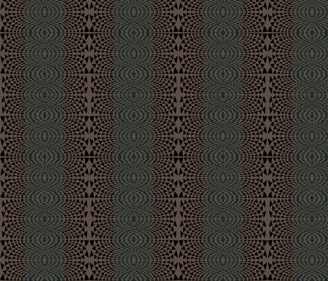 National Arbor (black unpub) fabric by david_kent_collections on Spoonflower - custom fabric