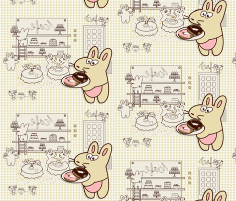 Kato's Cafe2 fabric by kato_kato on Spoonflower - custom fabric