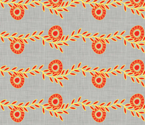 Bouquet_branch fabric by designedtoat on Spoonflower - custom fabric