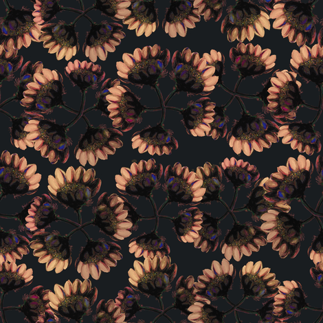 Harvest flower fabric by gavanna on Spoonflower - custom fabric