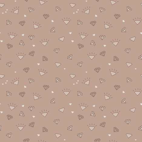 diamonds_fawn-01 fabric by owls on Spoonflower - custom fabric