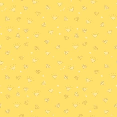 diamonds_yellow-01 fabric by owls on Spoonflower - custom fabric