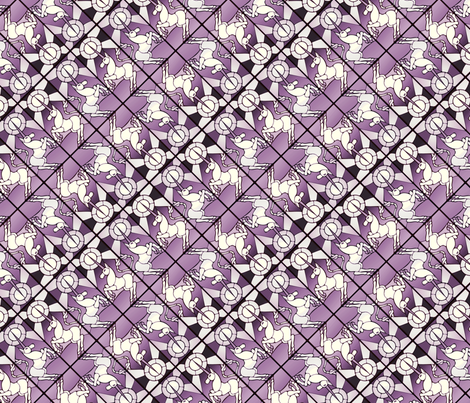 glassunicornp fabric by hannafate on Spoonflower - custom fabric