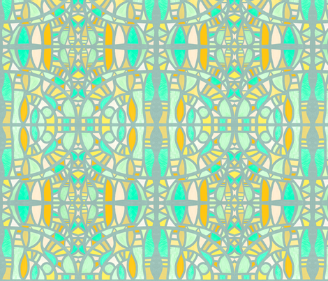 Summertime: sand and strand fabric by su_g on Spoonflower - custom fabric
