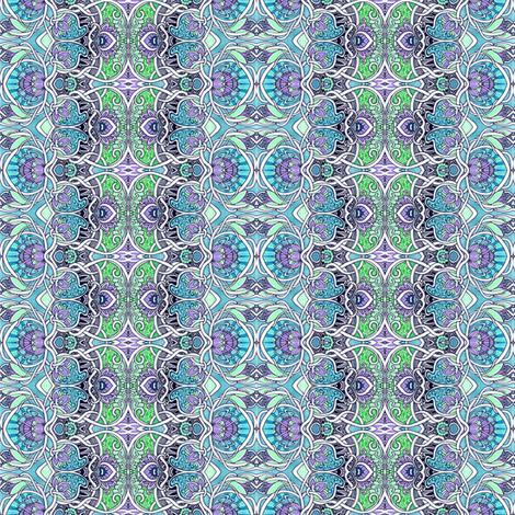 Art Nouveau To Go fabric by edsel2084 on Spoonflower - custom fabric