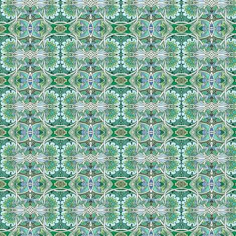 Garden of Lassos fabric by edsel2084 on Spoonflower - custom fabric
