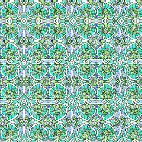 Celtic Artichoke fabric by edsel2084 on Spoonflower - custom fabric