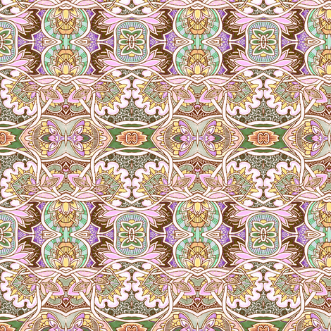 Fairy Princess Eat Your Artichoke Heart Out fabric by edsel2084 on Spoonflower - custom fabric
