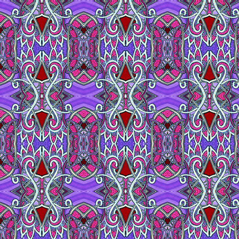 Gothic Princess fabric by edsel2084 on Spoonflower - custom fabric