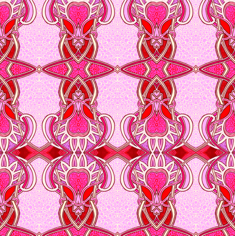 Nouveau Baby Girl fabric by edsel2084 on Spoonflower - custom fabric