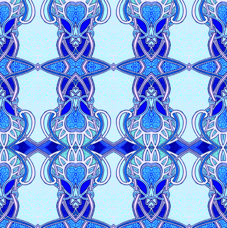 Nouveau Baby Boy fabric by edsel2084 on Spoonflower - custom fabric