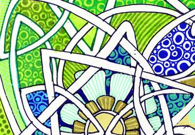 Craftsman Era Sunflower Stripe