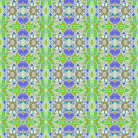 Craftsman Era Sunflower Stripe fabric by edsel2084 on Spoonflower - custom fabric