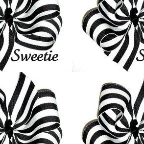 stripe bow