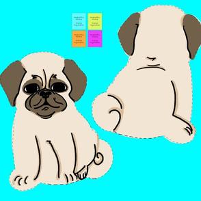 Pug Plush