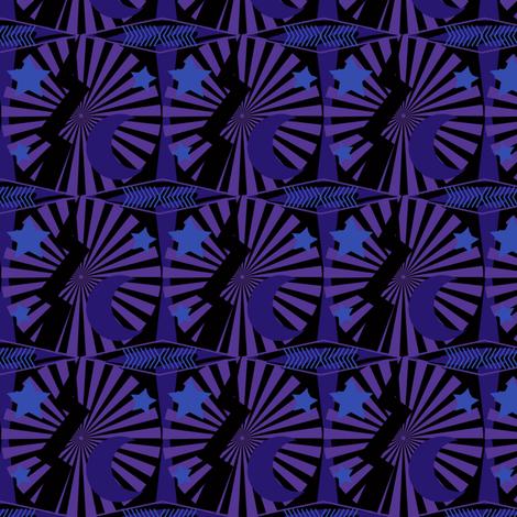 purple tattoo fabric by familypendragon on Spoonflower - custom fabric