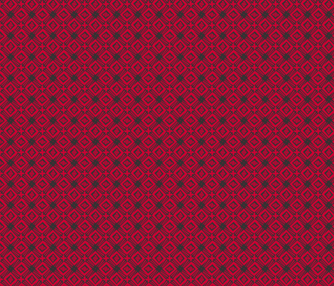windmill-redblack fabric by glimmericks on Spoonflower - custom fabric